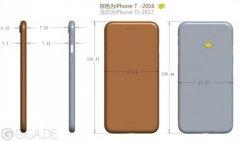 iPhone 7s设计图曝光:玻璃